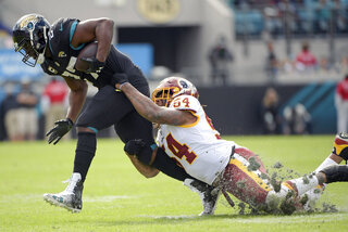 APTOPIX Redskins Jaguars Football