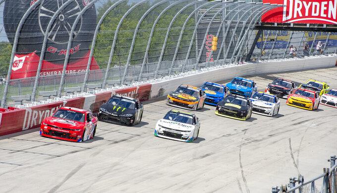 NASCAR Xfinity Series auto race at Dover International Speedway, Sunday, Aug. 23, 2020, in Dover, Del. (AP Photo/Jason Minto)