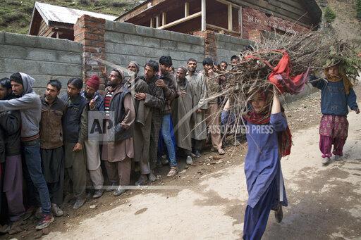APTOPIX India Kashmir Elections