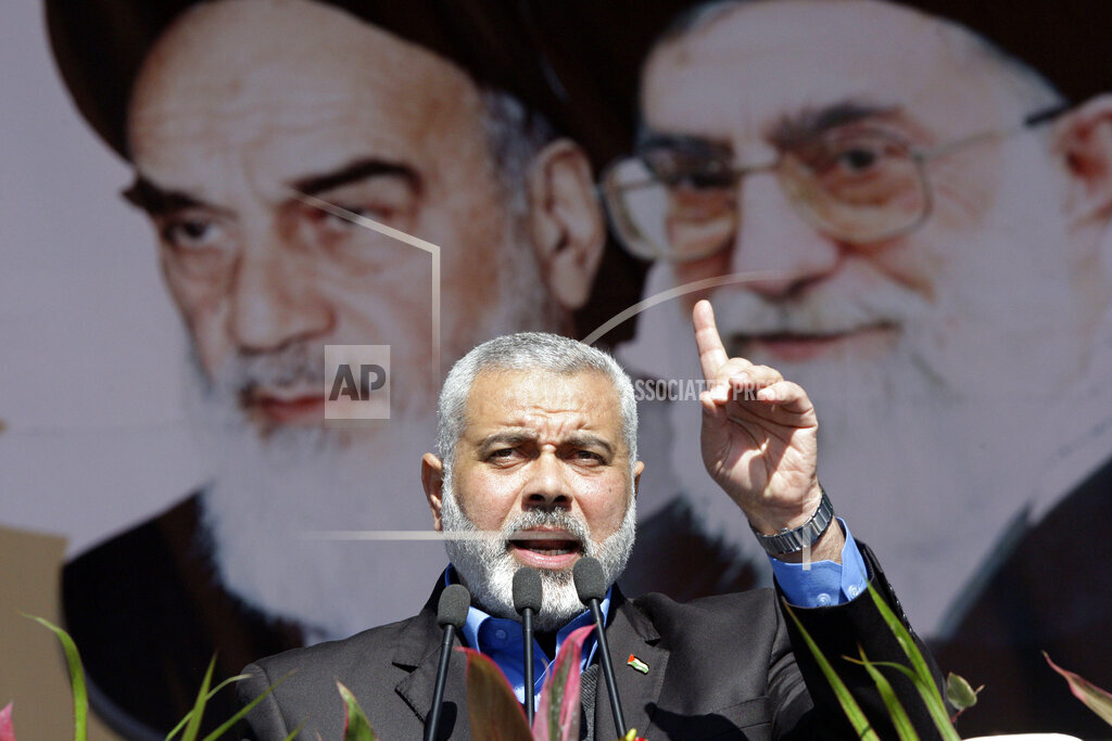 Mideast Iran Palestinians Israel