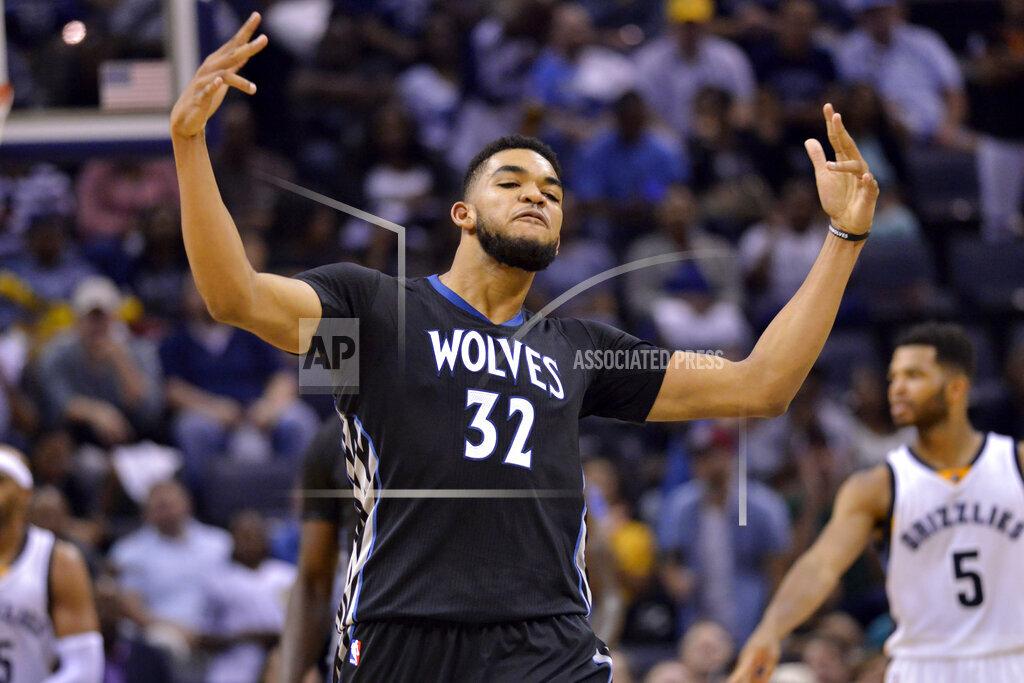 Timberwolves Grizzlies Basketball