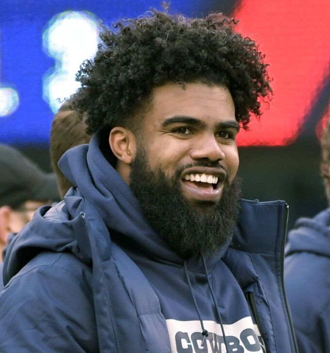 Cowboys' Elliott detained by police at Vegas music festival