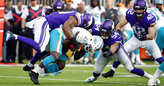 Dolphins Vikings Football
