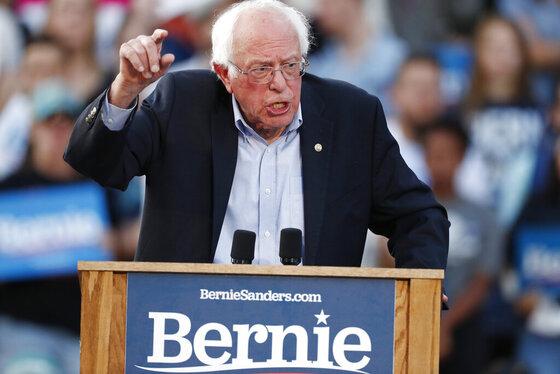 Bernie Sanders, r m