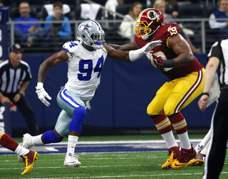 Randy Gregory, Ty Nsekhe