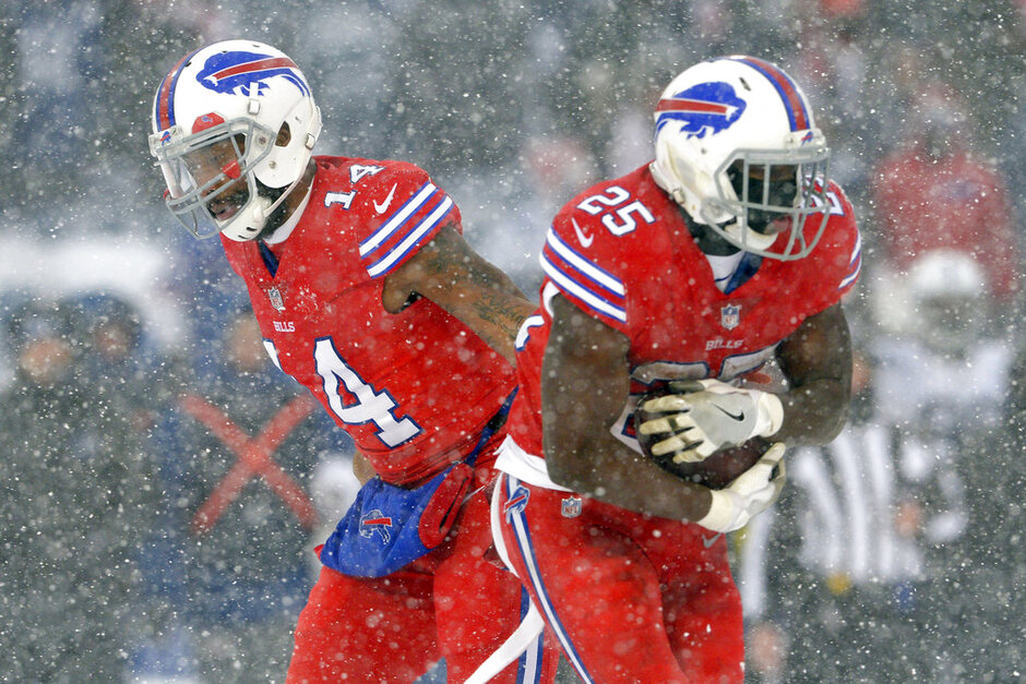 Joe Webb, LeSean McCoy