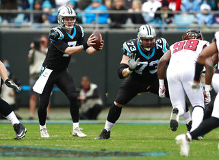 Panthers-Quarterbacks Football