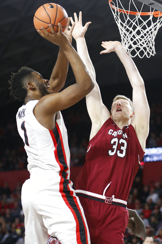 South Carolina Georgia Basketball