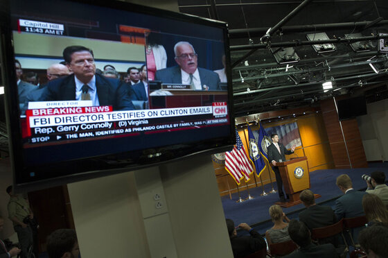 Campaign 2016 Clinton Email Comey