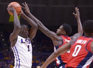 Mississippi LSU Basketball