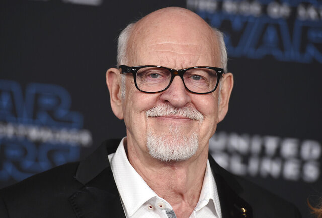 FILE - This Dec. 16, 2019 file photo shows Frank Oz at world premiere of