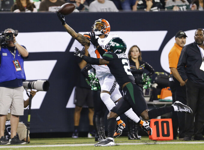 Cleveland Browns at New York Jets 9/16/2019