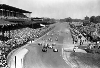 Indy 500 1952 Countdown Race 36 Auto Racing