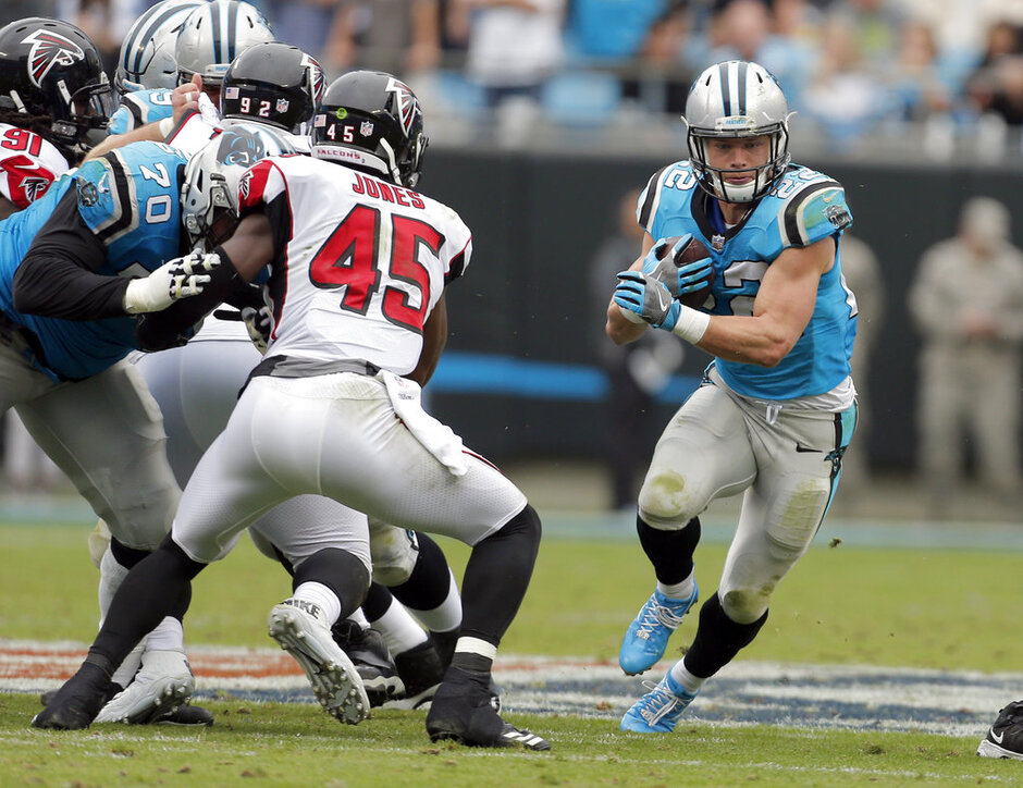 Christian McCaffrey, Deion Jones