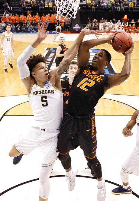 Oklahoma St Michigan Basketball