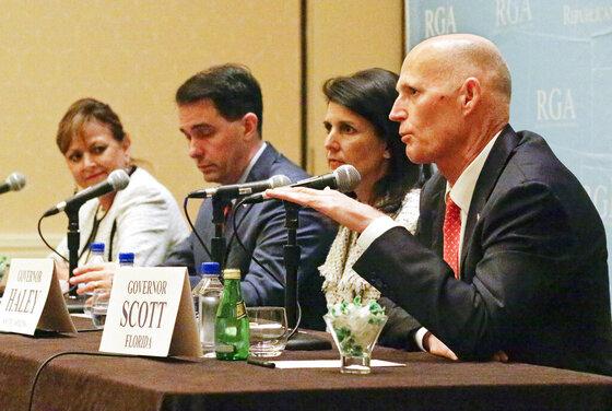 Rick Scott, Susana Martinez, Scott Walker, Nikki Haley