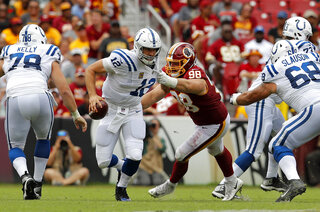 Matthew Ioannidis, Andrew Luck, Week 13