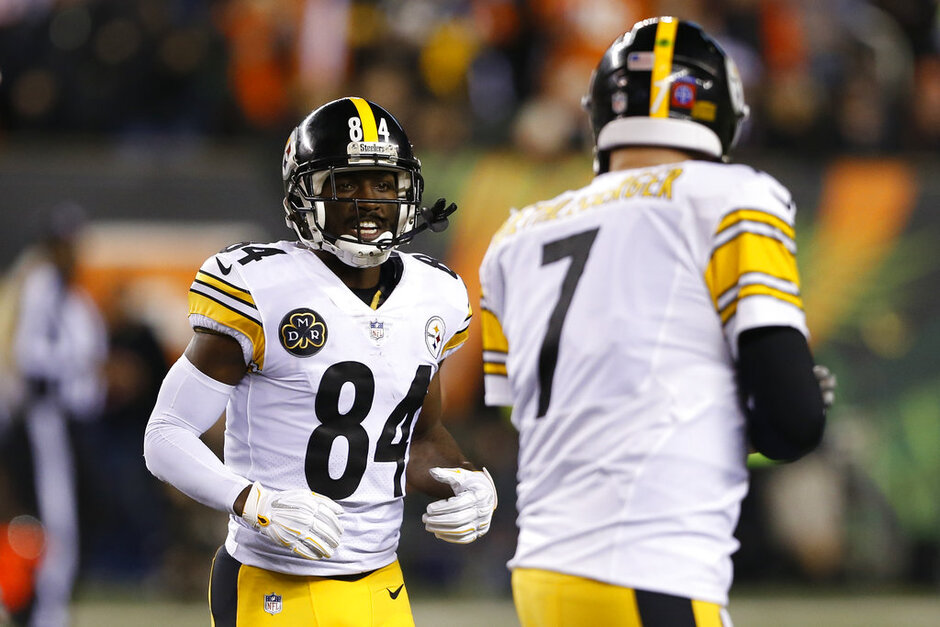 Antonio Brown, Ben Roethlisberger