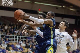 North Carolina Wilmington James Madison Basketball
