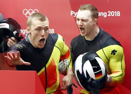 APTOPIX Pyeongchang Olympics Bobsled
