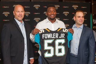 Jaguars Draft Fowler Football