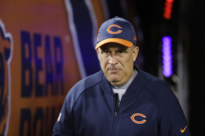 Broncos interview Bears defensive coordinator Fangio