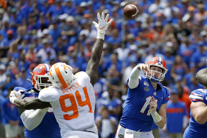 No. 9 Florida searching for offensive identity, balance