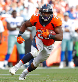 Broncos Anderson Released Football