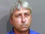 """FILE - This booking photo provided by the Glynn County Sheriff's Office shows William """"Roddie"""" Bryan Jr., who was jailed Thursday, May 21, 2020, in Brunswick, Ga., on charges of felony murder and attempted false imprisonment. A judge is expected to delve into the jury selection process at a hearing Thursday, July 22, 2021, for the upcoming murder trial of three men, including Bryan, accused of killing Ahmaud Arbery, a Black man who was chased and shot after he was spotted running in a Georgia neighborhood. (Glynn County Sheriff's Office via AP)"""