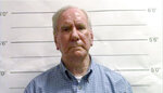 FILE - This Sept. 21, 2019, file booking image made from video and provided by the Orleans Parish Sheriff's Office in New Orleans, La., shows George F. Brignac. Brignac, a longtime schoolteacher and deacon who was removed from the ministry in 1988 after a 7-year-old boy accused him of fondling him at a Christmas party. (Orleans Parish Sheriff's Office via AP, File)