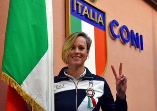 Italy OLY Rio Flagbearer