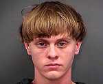 FILE - This June 18, 2015, file photo, provided by the Charleston County Sheriff's Office shows Dylann Roof. A federal appeals court on Wednesday, Aug. 25, 2021, upheld Roof's conviction and sentence on federal death row for the 2015 racist slayings of nine members of a Black South Carolina congregation. A three-judge panel of the 4th U.S. Circuit Court of Appeals in Richmond affirmed Roof's conviction and sentence in the shootings at Mother Emanuel AME Church in Charleston. (Charleston County Sheriff's Office via AP, File)