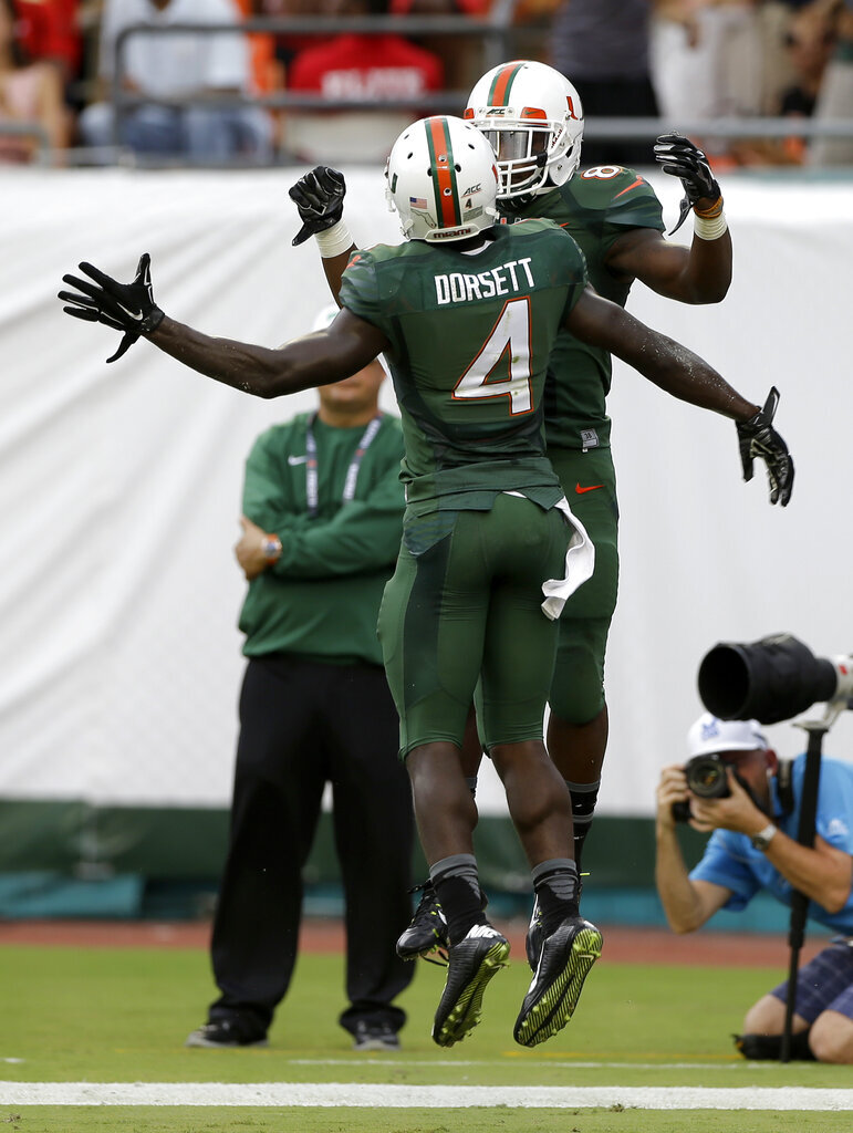 Phillip Dorsett, Duke Johnson