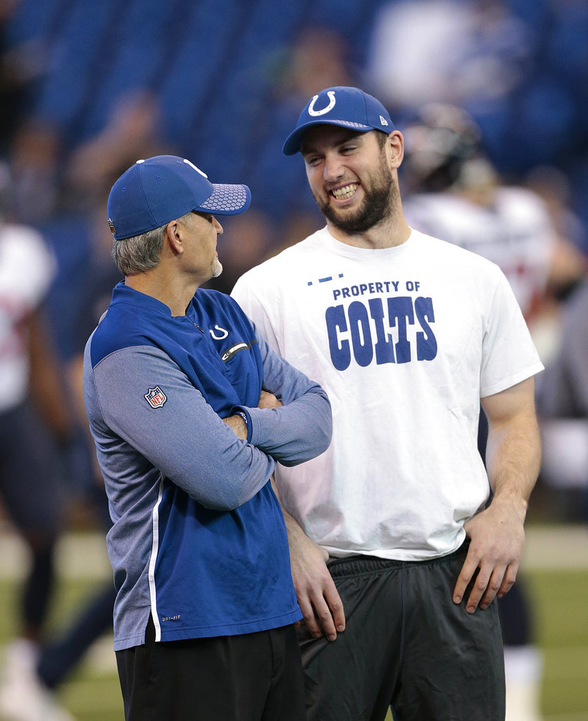 Chuck Pagano, Andrew Luck