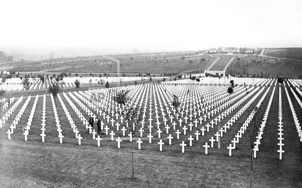 Watchf AP I   FRA APHS374782 American cemetery near Verdun