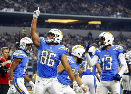 Hunter Henry, Tyrell Williams, Keenan Allen