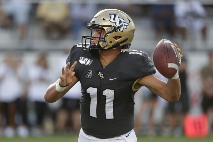 No. 15 UCF eager for chance to make statement vs. Pitt