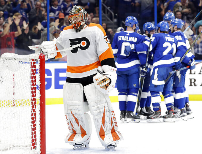 Philadelphia Flyers at Tampa Bay Lightning 12/27/2018