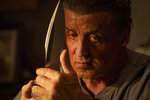 This image released by Lionsgate shows Sylvester Stallone as John Rambo in a scene from