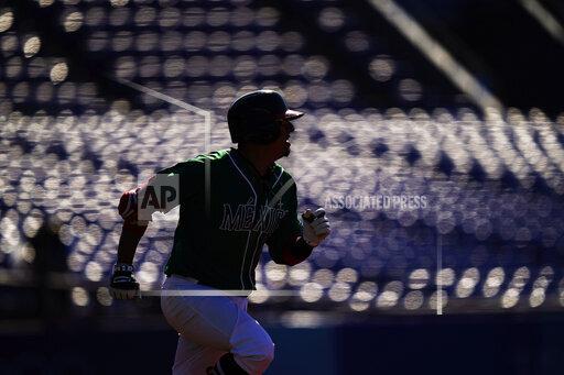 APTOPIX Tokyo Olympics Baseball