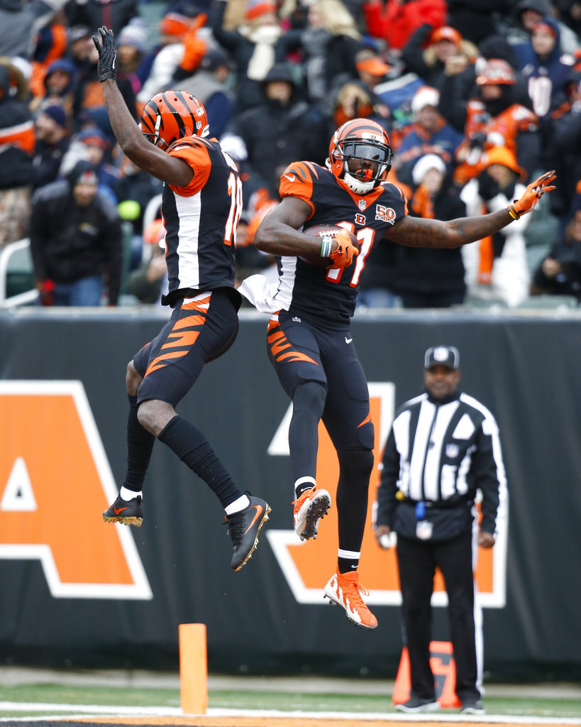 Brandon LaFell, A.J. Green