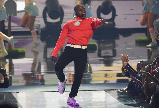 FILE - In this June 23, 2019 file photo, DaBaby performs