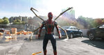 """This image released by Sony Pictures shows  a scene from """"Spider-Man: No Way Home."""" (Columbia-Sony Pictures via AP)"""