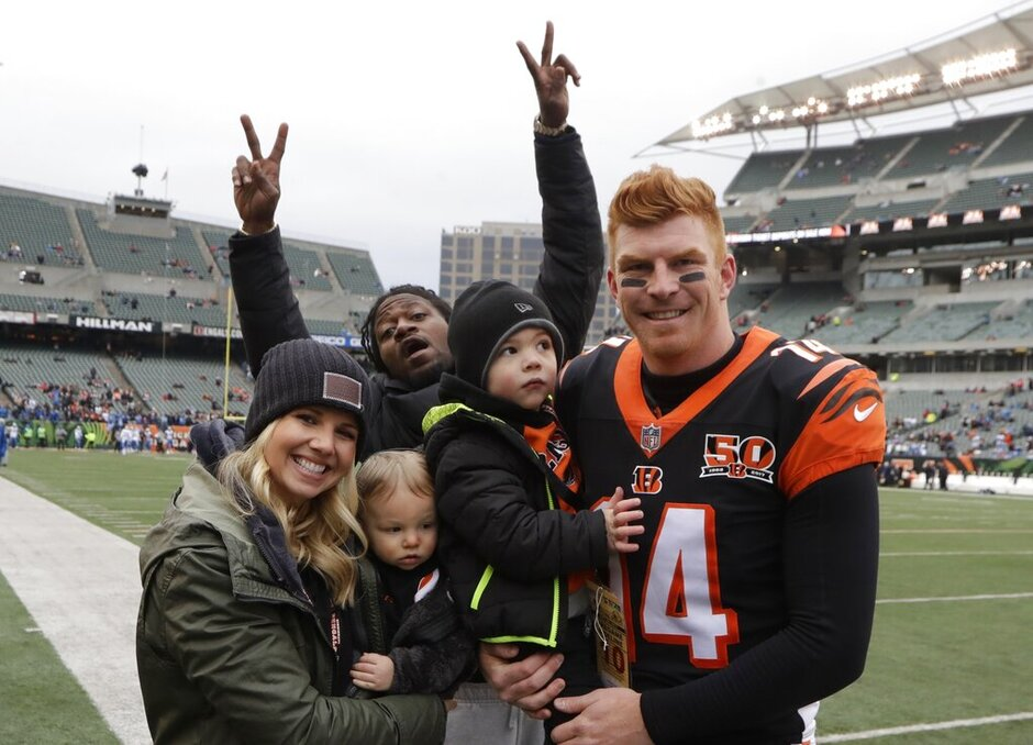 Adam Jones, Andy Dalton