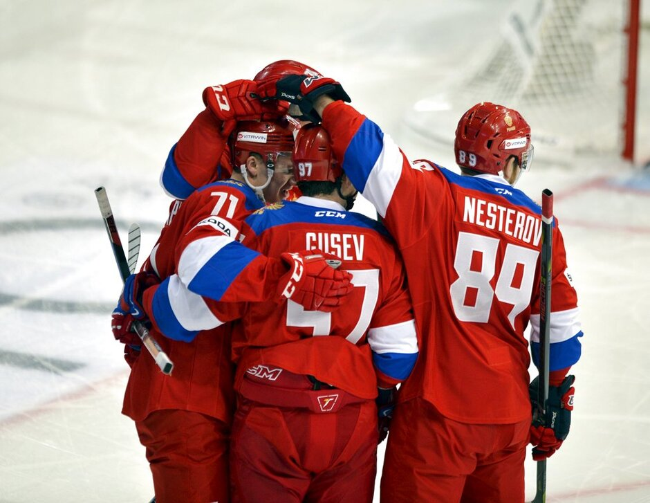 Pyeongchang Olympics Russian Red Machine