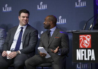Super Bowl NFLPA Football