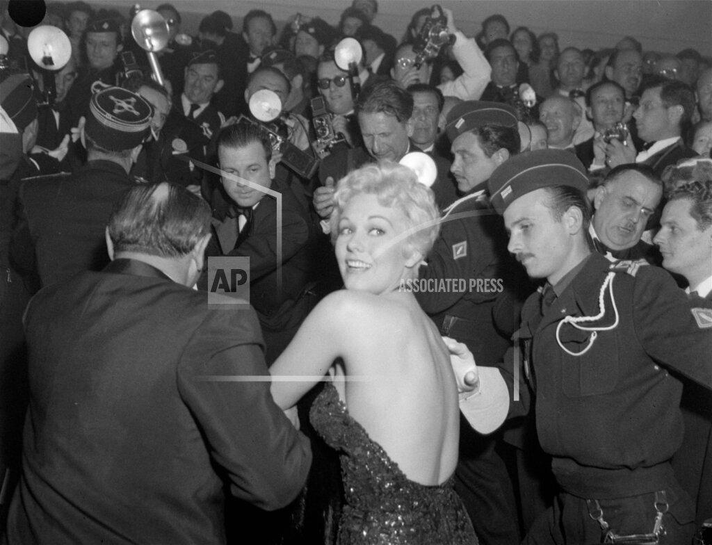 Associated Press International News France Entertainment, celebrities NOVAK CANNES FILM FESTIVAL