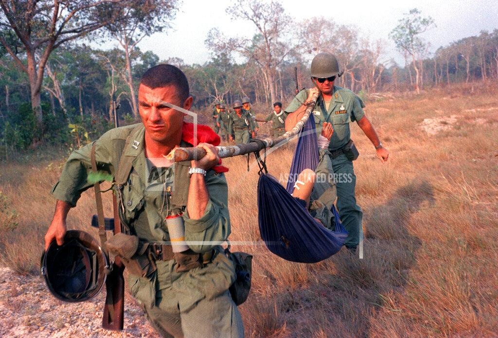 Associated Press International News Vietnam VIETNAM WOUNDED