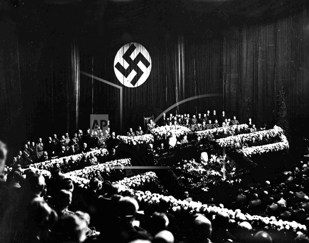 Watchf Associated Press International News   Germany APHSL101464 Berlin Adolf Hitler