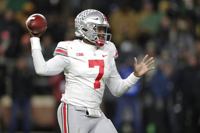 OSU's Haskins racks up big yardage in big loss to Purdue